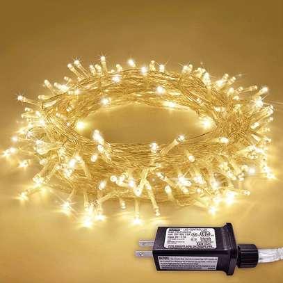 Lights Indoor Outdoor Christmas Lights 8 Modes Christmas String Lights Fairy String Lights for Home image 1
