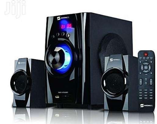 Sayona2.1 CH Multimedia Speaker With Bluetooth/USB/FM - 5500W image 1