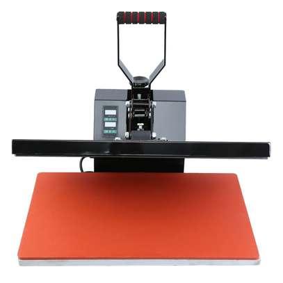 1600W Clamshell Heat Press Transfer T-Shirt Sublimation Machine Ridgeyard image 3