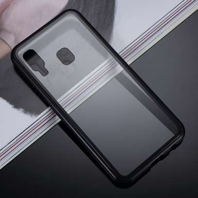 Magnetic Double-sided 360 Full Protection Glass Case for Samsung A70 A60 A50 A40 A30 image 6