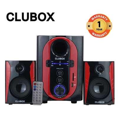 CLUBOX FL-2401 2.1 Channel Multimedia Speaker System image 1