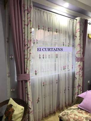 ELEGANT CLASSY CURTAINS AND SHEERS BEST FOR YOUR  ROOM image 8