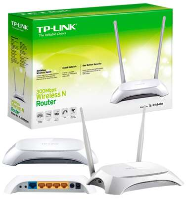 Tplink TL-WR840N 300mbps Wireless N Router Fast Download Speed image 5