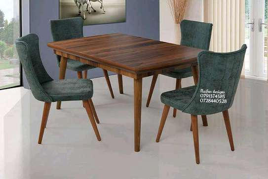 Four seater dining set image 1
