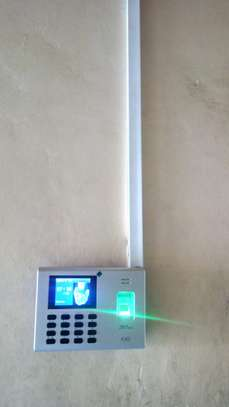 Biometrics Time Attendance System (Gadget) image 1