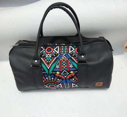 African print customized travelling bag image 1