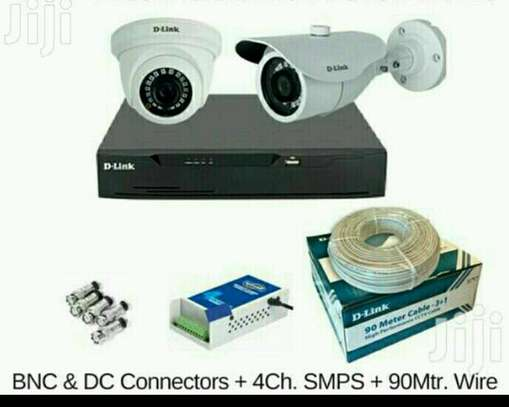 2 CCTV CAMERA FULL SET image 1