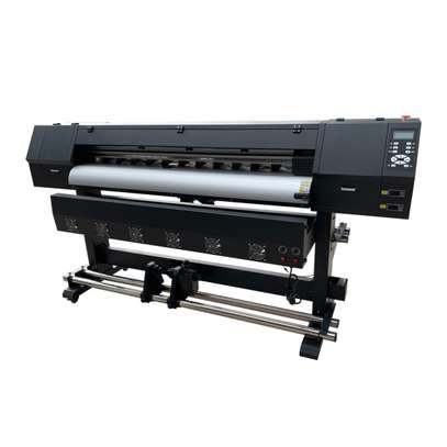 new 1.8m large format printer eco solvent outdoor printer 180cm large format outdoor printer inkjet printing machine image 1