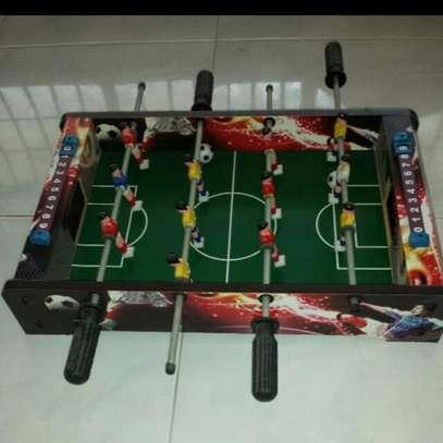 Brand new mini table soccer/foosball.