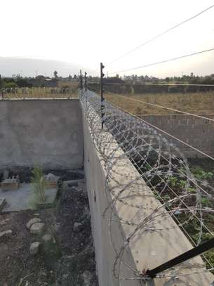 Electric fence and Razor wire System installation..... image 1