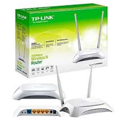 Networking Equipment: Tp Link TL-WR840N | 300mbps Router. image 1