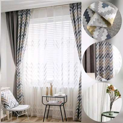 2SIDED HEAVY CURTAINS image 1