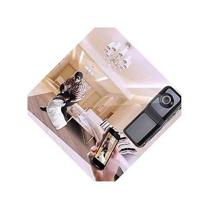 World Smallest HD Nanny Camera With Live Stream Over Web And Smart Phones -Black image 3