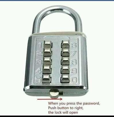 Keyless password padlock