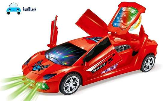 Super car convertible toy car image 1