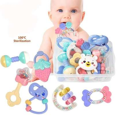 Baby Rattles/ Teether Toy Set