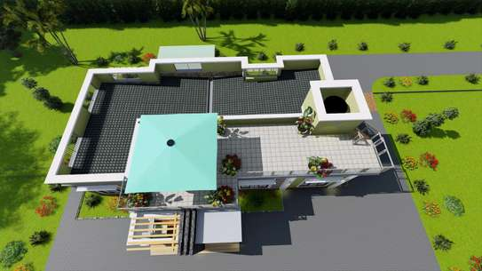 4 bedroom flat roof. With resting place image 4