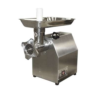 150KG/h Electric Half Stainless Steel Meat Grinder Painting Meat Mincer with Sausage Tube for Restaurant image 1