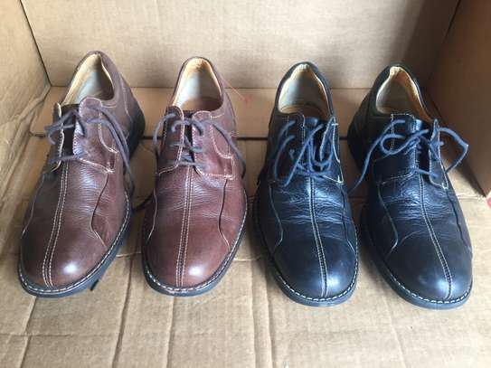 2 Pairs Men's Leather Shoes