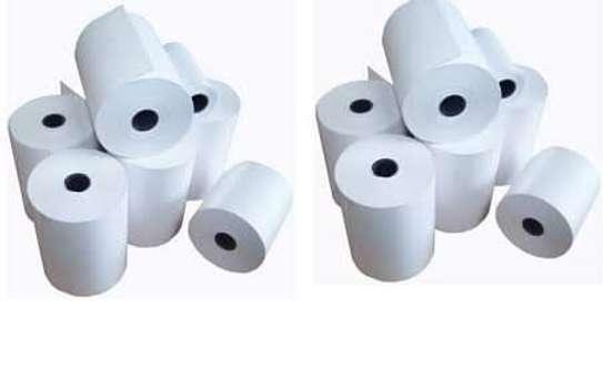 USB Thermal rolls receipts image 1