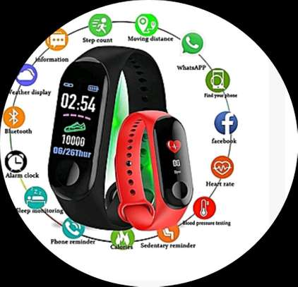 Smart band Heart rate and Health Monitoring Bracelet image 1