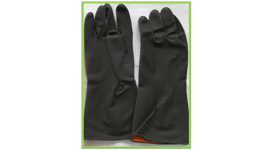 Sun Rubber Safety Gloves