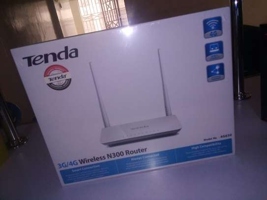 tenda router n 300 that supports modem image 1