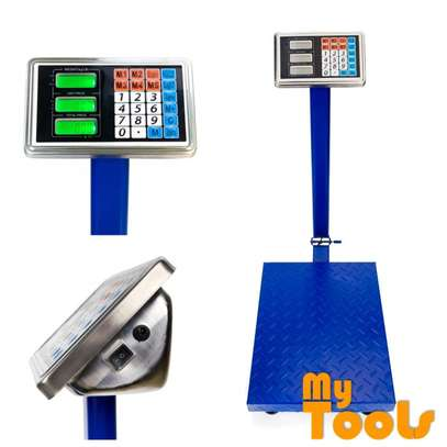 150kg Digital Electronic Price Platform Scale (Blue) image 6