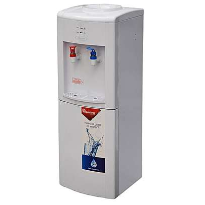 RAMTONS RM/429 - Hot & Normal Water Dispenser + Stand - White image 1
