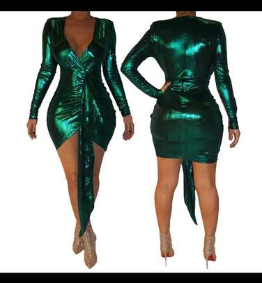 Hot Green party dress