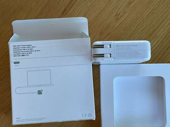Apple 96W USB-C Power Adapter - MX0J2AM/A Model A2166 (USB-C Cable included) image 4