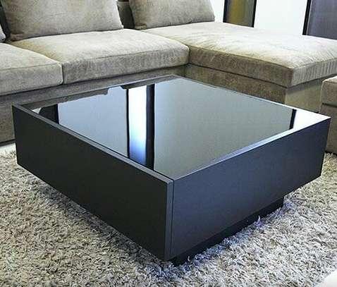 Stylish Black Coffee Table image 1