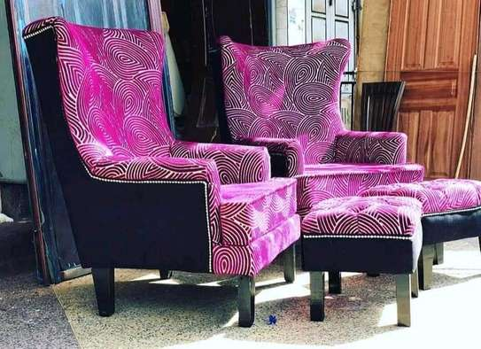 Executive Wing Chair set image 1