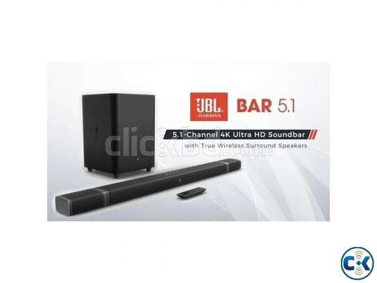 JBL 5.1ch 510W 4K Ultra HD Soundbar With True Wireless Surround Speakers image 1