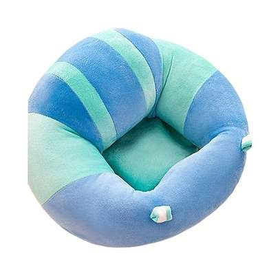 comfy Baby Support Sit Me Up Pillow(blue and green) image 1