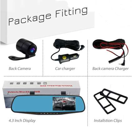 Dash Cameras 1080p HD Front and Rearview image 4
