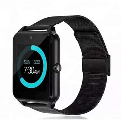Bluetooth/Simcard Smartwatch with Stainless steel band. image 2