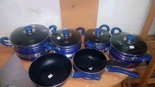 Non stick cooking pots image 1