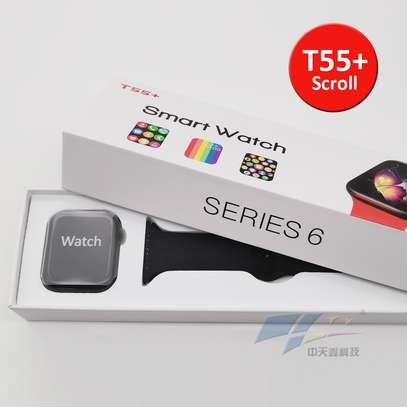 2021 Series 6 Newest T55+  Smartwatch Intelligent Reloj Waterproof Bluetooth Music Control Health Fitness Bracelet image 10