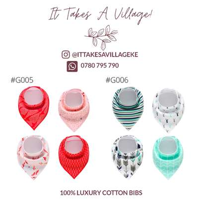 100% Cotton luxury bibs image 6