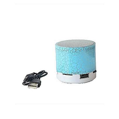 Generic Mini LED Bluetooth Wireless Speaker TF Portable For Cell Phone Laptop PC - Blue