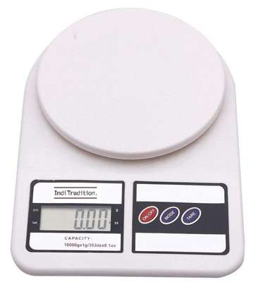 10 kg Portable Electronic Kitchen Digital Weighing Scale. image 1