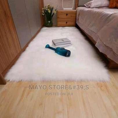 Faux Fur Bedside Mats image 3