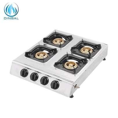 4 burner table top gas cooker image 1