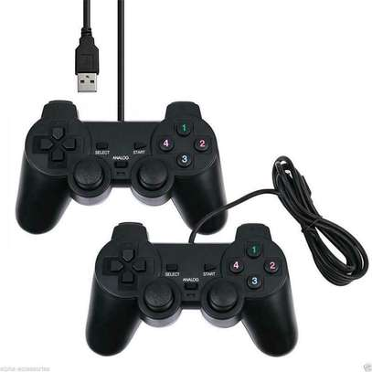 USB 2.0 Wired Game Controller Gamepad Joypad for Laptop PC Computer US Stock