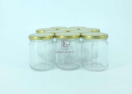 10pcs 212ml Glass Jars Mason Jars with Pop Lids image 3