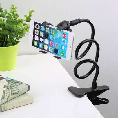 Adjustable phone stand for desk image 1