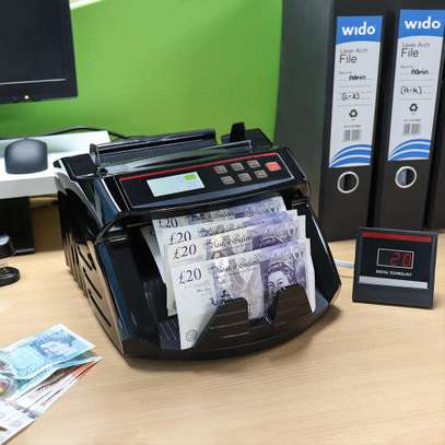 Money Counting Machine Banknote Counter UKC Multi-Cuttency Counter 5800 UV-MG image 1