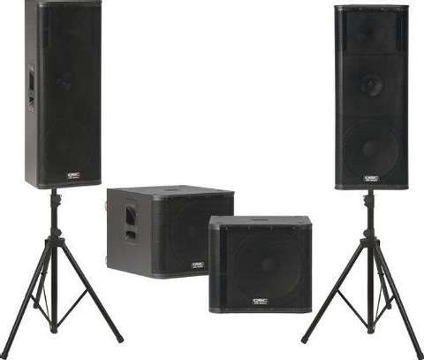 Rent our sound equipment image 1