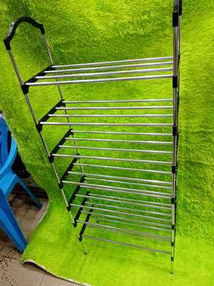6 layer portable shoe rack image 2